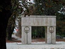 Poarta sarutului Stock Image