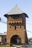 Poartal ορόσημο πυλών Targoviste Στοκ φωτογραφία με δικαίωμα ελεύθερης χρήσης