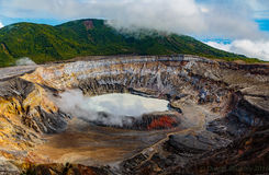 poas volcan стоковые фотографии rf