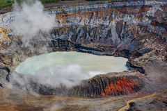 poas volcan Στοκ Εικόνες