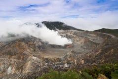 Poas volcano Stock Images