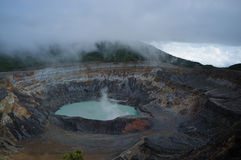 Poas volcano Stock Image