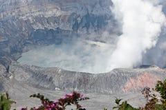Poas Volcano Caldera royaltyfria foton