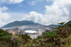 Poas Volcano, Costa Rica Royalty Free Stock Image
