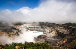 Poas Volcano - Costa Rica Stock Photo