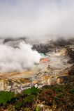 Poas Volcano - Costa Rica. Huge crater of the Poas Volcano, Costa Rica Royalty Free Stock Photography