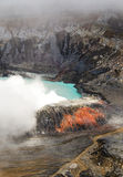 Poas Volcano - Costa Rica. Huge crater of the Poas Volcano, Costa Rica Stock Images