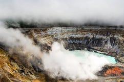 Poas Volcano - Costa Rica Royalty Free Stock Photos