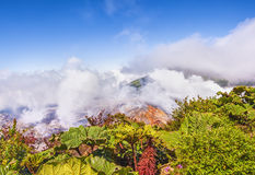 Poas Volcano Costa Rica Royalty Free Stock Photography