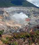 Poas Volcano Crater Royalty Free Stock Photos
