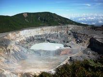 Poas Volcano National Park royaltyfria bilder