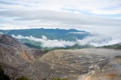 Poas volcano range Royalty Free Stock Photos