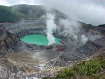 Poas vulkan royaltyfri foto