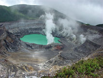 Poas wulkan zdjęcie royalty free