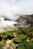 Poas wulkan - Costa Rica Obraz Royalty Free