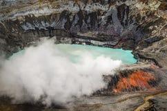 Poasvulkaan - Costa Rica Royalty-vrije Stock Foto's