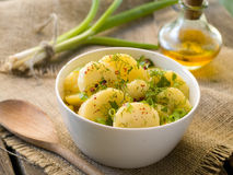 Poato salad Stock Photos