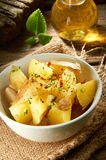 Poatto Salat Stockfoto