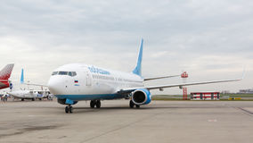 Pobeda Airlines Boeing 737 Stock Photography