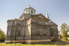 Pobirka -正教教会,乌克兰,欧洲。 免版税图库摄影