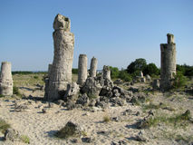 Pobiti Kamani在保加利亚 免版税库存图片