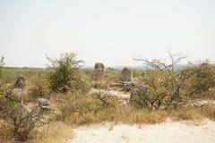 Pobiti Kamani η πέτρινη έρημος, ένα έρημος-όπως φαινόμενο βράχου Στοκ Εικόνες