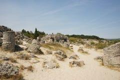 Pobiti Kamani η πέτρινη έρημος, ένα έρημος-όπως φαινόμενο βράχου Στοκ εικόνα με δικαίωμα ελεύθερης χρήσης