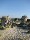 Pobiti Kamani в Болгарии Стоковая Фотография