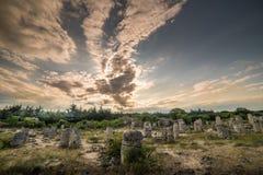 石森林(pobiti kamani)在保加利亚图片