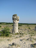 Pobiti Kamani i Bulgarien Royaltyfria Bilder