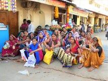 Población de la India - mujeres Fotos de archivo libres de regalías