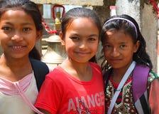 Población de Nepal Fotos de archivo