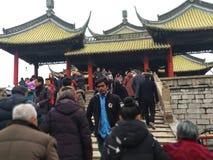 Población Team Path Temple Ancient Fotos de archivo libres de regalías