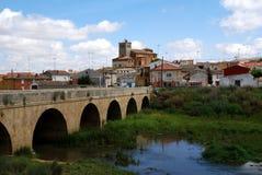 Poblacion de Campos Imagen de archivo libre de regalías