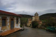 Poblado de Escaño, Villarcayo, Ισπανία Στοκ φωτογραφία με δικαίωμα ελεύθερης χρήσης