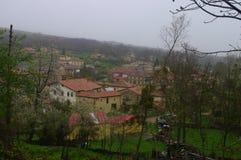 Poblado de la Parte de Sotoscueva, Burgos, Spain. La Parte de Sotoscueva, también conocida como La Parte, es una localidad situada en la provincia de Burgos Stock Photo
