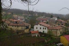 Poblado de la parte de Sotoscueva, Burgos, Spain. La Parte de Sotoscueva, también conocida como La Parte, es una localidad situada en la provincia de Burgos Royalty Free Stock Photos