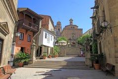 Poble Espanyol ή ισπανικό χωριό, ΒΑΡΚΕΛΩΝΗ, ΙΣΠΑΝΙΑ Στοκ Εικόνες