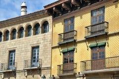 Poble Espanyol στη Βαρκελώνη Στοκ φωτογραφία με δικαίωμα ελεύθερης χρήσης