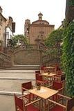 Poble Espanyol στη Βαρκελώνη Στοκ εικόνες με δικαίωμα ελεύθερης χρήσης