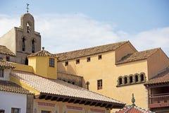 Poble Espanyol, Barcelona Royalty-vrije Stock Foto's