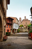 Poble Espanyol in Barcelona, Spain Royalty Free Stock Image