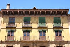 Poble Espanyol in Barcelona, Spain Royalty Free Stock Photo
