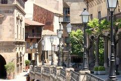 Poble Espanyol em Barcelona, Spain Imagem de Stock