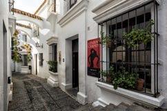Poble Espanyol, Spaanse stad Barcelona, Spanje Royalty-vrije Stock Fotografie