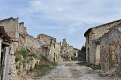 Poble Vell de Corbera d'Ebre in Spain Stock Image