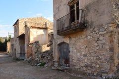 Poble Vell de Corbera de Ebro, Tarragona province, Catalonia, Sp Royalty Free Stock Photography