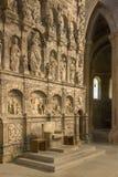 Poblet修道院-卡塔龙尼亚-西班牙 免版税库存照片