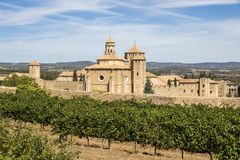 Poblet, Каталония, Испания стоковые фото