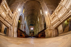 Poblet abbey in SPain Stock Images